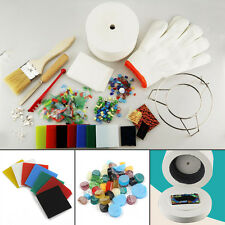 15 pcs/Set Large Microwave Kiln Kit Glass Fusing DIY Craft Jewellery Art Tool