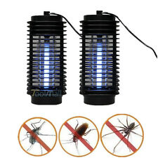 2X Electronic Mosquito Killer Lamp Bug Zapper Eliminate Mosquitoes Light Killing