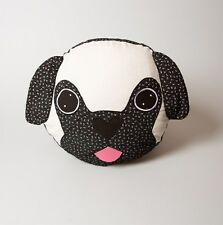 Pablo the Pug Cushion Kids Children's Room Decor Animal Dog Pillow Sass & Belle