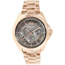 Fossil AM4533 New Original * CECILE Multifunction SS in Rose Gold* Women's Watch