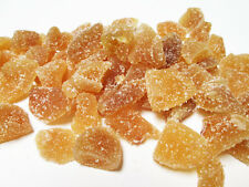 Natural Crystallized Ginger Chunks-Unsulfured, 2 lb bag-Green Bulk