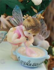 My Little Kitchen Fairies APPLESAUCE  FAIRIE Enesco Series FIGURE fairy figure