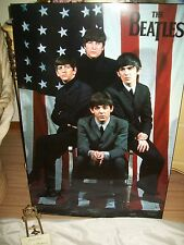 "The Beatles First Visit to America 1964 US Limited Numbered Plaque 36"" x 24"" Lge"