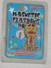 American Products Magnetic Flashing Pin #1 Pop