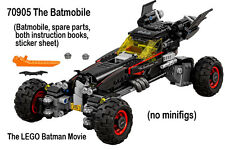 Lego Batman Movie NEW 70905 The Batmobile no figs 2017 Speedwagon Buttmobile