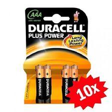 Confezione 40 Pile Batterie Duracell Plus Power AAA MiniStilo Lr03 Mn2400 hsb