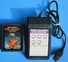 Star Raiders Atari 2600 with a Video Touch Pad Controller & Insert
