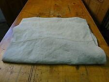 Antique European Linen, Hemp,Flax Homespun Linen Sheet 80'' x 55'' #7600