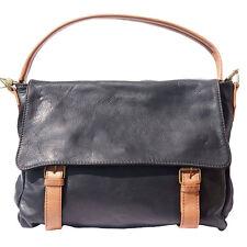 Business Aktentaschen ,Tasche aus italienischem Leder in Hand in Italien 6141bkt