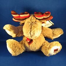 Pier 1 Imports - Patches the Moose Plush - Christmas Stuffed Animal - NEW