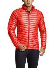Mountain Hardwear Ghost Whisperer 800 Down Jacket Mens L LARGE CHERRY BOMB RED