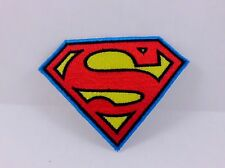SUPERMAN HERO COMIC ANIME PUNK ALTERNATIVE ROCKABILLY IRON ON PATCH