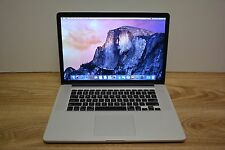 Apple MacBook Pro 15 Retina Core i7 2.5GHz 16GB RAM 256GB SSD Iris AppleCare