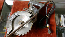 VINTAGE SKILL SAW SKIL WORM GEAR SUPER HEAVY DUTY CIRCULAR SAW MODEL 77 METAL