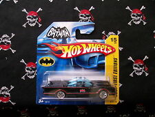 Hot Wheels 2006 TV Batmobile 2007 First Editions Short card #15 of 36