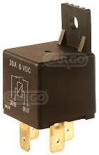 NEW 6V 20 AMP 4 PIN TERMINAL MINI RELAY SWITCH WITH BRACKET CAR BOAT 160652