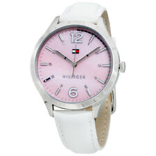 Tommy Hilfiger Women's 1781547 Casual Sport Analog Display Quartz White Watch