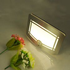 2PCs LED Wireless Light-operated Motion Sensor Battery Power Sconce Wall Light