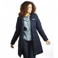 RRP £69.99 LADIES REGATTA BLISSFUL LONG INSULATED BLISSFULL II PARKA JACKET/COAT