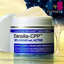 ELENSILIA CPP Caviar 80% Renovage Gold Cream 50g 1.76oz Nutrition Revitalizing