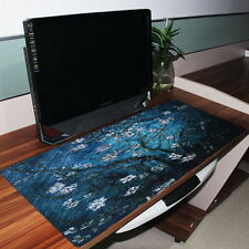 Cherry blossoms Anti-Slip Computer PC Rubber Game Mouse Pad Mat Large XL