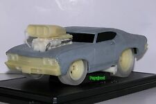 Muscle Machines Raw 1969 Chevrolet Chevelle 69 Chevy Limited 1/504 1:18 Scale