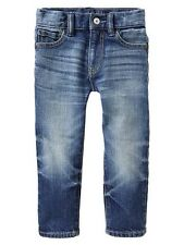 GAP Baby / Toddler Boy 12-18 Months NWT Distressed Straight Blue Jeans / Pants