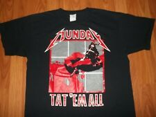 Cool METALLICA Take-off TAT EM ALL TATTOO ink Gun T-Shirt L Kill Em All album
