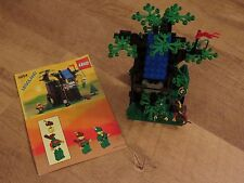 Vintage Lego Castle set 6054 Forestmen's Hideout 100% complete with instructions