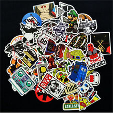 10pcs/lot Fashion Sticker Bomb Decal Vinyl Roll Car Skate Skateboard Laptop