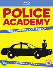 POLICE ACADEMY - COMPLETE COLLECTION - BLU-RAY - REGION B UK