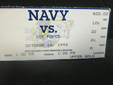 NCAA- NAVY MIDSHIPMEN V. AIR FORCE FIGHTIN FALCONS OCT.14,1995- COMMANDERS CUP