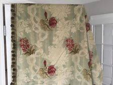 """Exquisite Custom Crushed Velvet Drapes Curtain 48"""" x 76"""" French Decor Lined"""