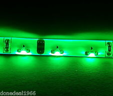 GREEN PC MODDING SINGLE 20CM STRIP 3 PIN CONNECTOR MOBO BACKLIGHT CASE LED STRIP