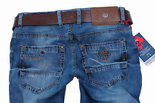 Brand New Exclusive d.g:Men's   Classic, Straight  Jeans+Gift Belt Size 31