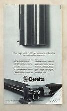 E480-Advertising Pubblicità-1975-BERETTA SUPERIORE QUALITA' DELLE CANNE