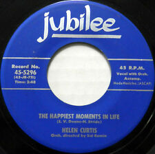HELEN CURTIS 45 The Happiest Moments In Life / Any Friend of Al's JUBILEE  #A902