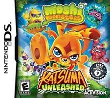 Moshi Monsters Katsuma Unleashed Nintendo DS  Brand New - In Stock - Fast Ship