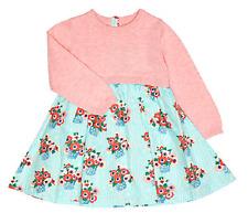 JOHN LEWIS BNWT Baby Girls Flower Knit Top Dress 12-18 Mths