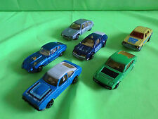 MAJORETTE  HONDA  FORD  RENAULT  CITROEN  SIMCA  JAGUAR  - GOOD CONDITION.