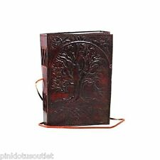 Leather Bound Paper Blank Journal Notebook Diary Tree of Life