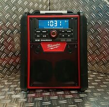 Milwaukee M18 RC-0 Akku&Netz Radio Baustellenradio mit Ladefunktion & Bluetooth