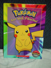 Pokemon  Get Well Pikachu! by Tracey West 2004, Hardcover