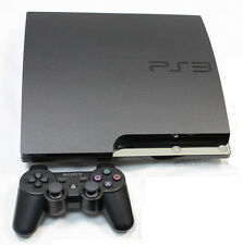 Sony Playstation 3 Ps3 Slimline Slim 160 Gb carbón + Consola Controlador Bundle