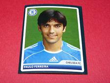 95 PAULO FERREIRA CHELSEA BLUES UEFA PANINI FOOTBALL CHAMPIONS LEAGUE 2006 2007