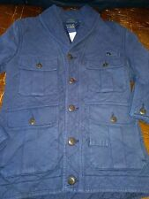 RALPH LAUREN POLO NAVY BLUE QUILTED JACKET MENS NWT NEW XS $298