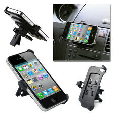 iPhone 4 4S Vent Car Holder Mount Adjustable Cradle Dock Dash Stand Adjustable
