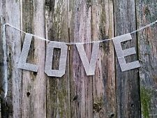 LOVE /love Wedding Bunting Banner Photo Booth Props Signs Garland New rhinestone