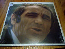 CHARLES AZNAVOUR THE AZNAVOUR WAY(French) LP Monument SLP 18135 1970 In Shrink