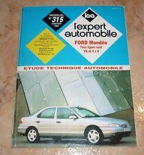 revue technique l'expert automobile l'ea N°315 FORD MONDEO + FICHES TECHNIQUES